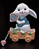 1989 Bunny With Wagon *MM Easter