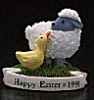 1991 Lamb & Duck On Grass *MM Easter