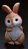 1990 Ceramic Boy Bunny *MM Easter