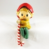 1984 Elf with Candy Cane Stocking Hanger (DB)