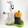 Halloween Plush Ghost and Pumpkin *Magic No Tag