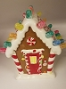 2008 Musical Gingerbread Gumdrop House * Lights Up