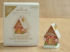 2009 Home Sweet Home Gingerbread House *Miniature *Club *Colorway