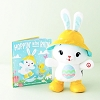 2020 Hoppy Day Bunny and Book Set of 2 *Interactive Easter Plush