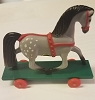 1985 Horse on Wheels *MM Christmas