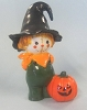 Merry Miniature Halloween Cute Scarecrow 1974