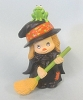 Merry Miniature Halloween Cute Witch 1982
