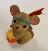 1984 Indian Mouse with Feather *MM Thanksgiving