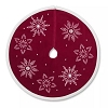 Miniature Tree Skirt Burgundy *Miniature Issued 2016/2017