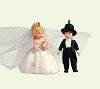 2005 Madame Alexander Rosette Dreams Bride and Groom * Miniature