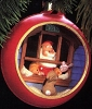 1984 Santa's Workshop Panorama Ball *Magic