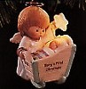 1996 Baby's First Christmas Cradle *Magic