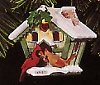 1997 Holiday Serenade Birdhouse Cardinal *Magic