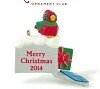 2014  Merry Mailbox *Miniature *Club *Colorway