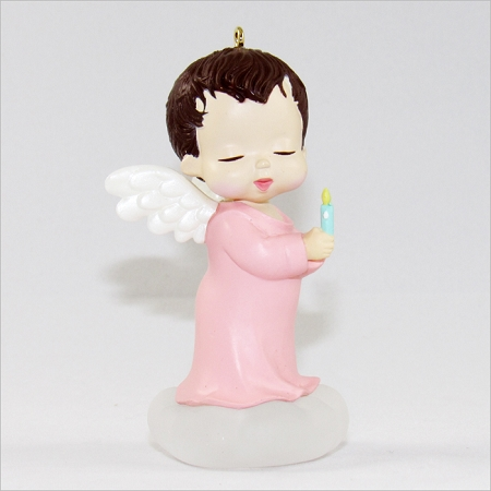 1990 Hallmark Ornament Rosebud 3rd Mary/'s Angels  Series Original Box