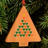 1988 Mayor's Christmas Tree Wooden Tree  (NB)