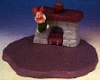 1999 Winnie the Pooh Piglet on Base *MM Christmas