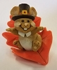 1982 Pilgrim Mouse on Orange Leaf *MM Thanksgiving
