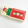 1984 Mouse in Matchbox *MM Christmas