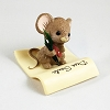 1982 Mouse with Feather Pen *MM Christmas