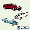 2005 Muscle Cars Set of Three *Club HARD TO FIND