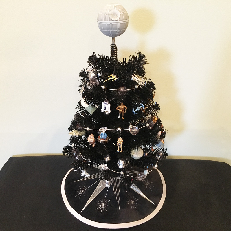 Star Wars Miniature Tree Collection