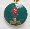 1996 Cloisonne Olympic Medallion
