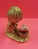 Little Gallery Pewter Figurine Betsey Clark with Painted Crocus (NB)