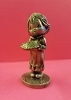 Little Gallery Pewter Figurine Betsey Clark With Pie