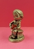 Little Gallery Pewter Figurine Betsey Clark Holding Heart Pillow (NB)