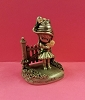 Little Gallery Pewter Figurine Joan Walsh Angund Girl At Gate