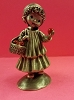 Little Gallery Pewter Figurine Mary Hamilton Girl with Apples (NB)