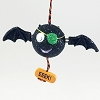Pirate Bat With Eye Patch *Halloween Trimmer