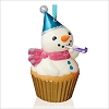 2015 Keepsake Cupcakes Monthly Series 6th New Year's Snowman