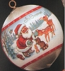 1981 Traditional Ball African American Santa (NB)