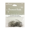 Standard Ornament Hooks set/20 SILVER