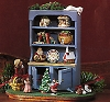 1994 Mrs. Claus's Cupboard *Club Event Display *Three Signatures