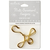 Multi-Ornament Hanger Hook set/5 GOLD *Miniature