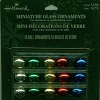 Miniature COLORED Glass Ornaments set/15 *Miniature