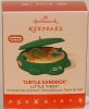 2016 Little Tikes Turtle Sandbox *MINIATURE ORNAMENT.. NOT A TOY