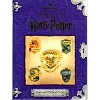 2001 Harry Potter Hogwarts School Crests Pewter