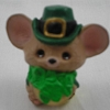 1987 Mouse With Hat & Shamrock *MM St. Pat's