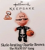 2010 Peanuts Gang Skele-brating Charlie Brown *Halloween