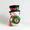 1976 Snowman With Wreath *MM Christmas