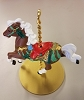 1989 Christmas Carousel Horse - Star (NB)