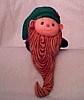 1979 Elf with Beard Stocking Hanger (NB)