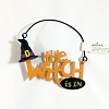The Witch Is In Orange Lettering *Halloween Trimmer