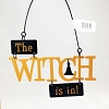 The Witch Is In Large Orange Lettering *Halloween Trimmer