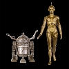 2019 Star Wars Beginning Ralph McQuarrie C-3PO & R2D2 set/2 *Chicago Star Wars Celebration Exclusive