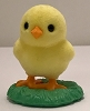 1984 Flocked Chick on Grass *MM Easter